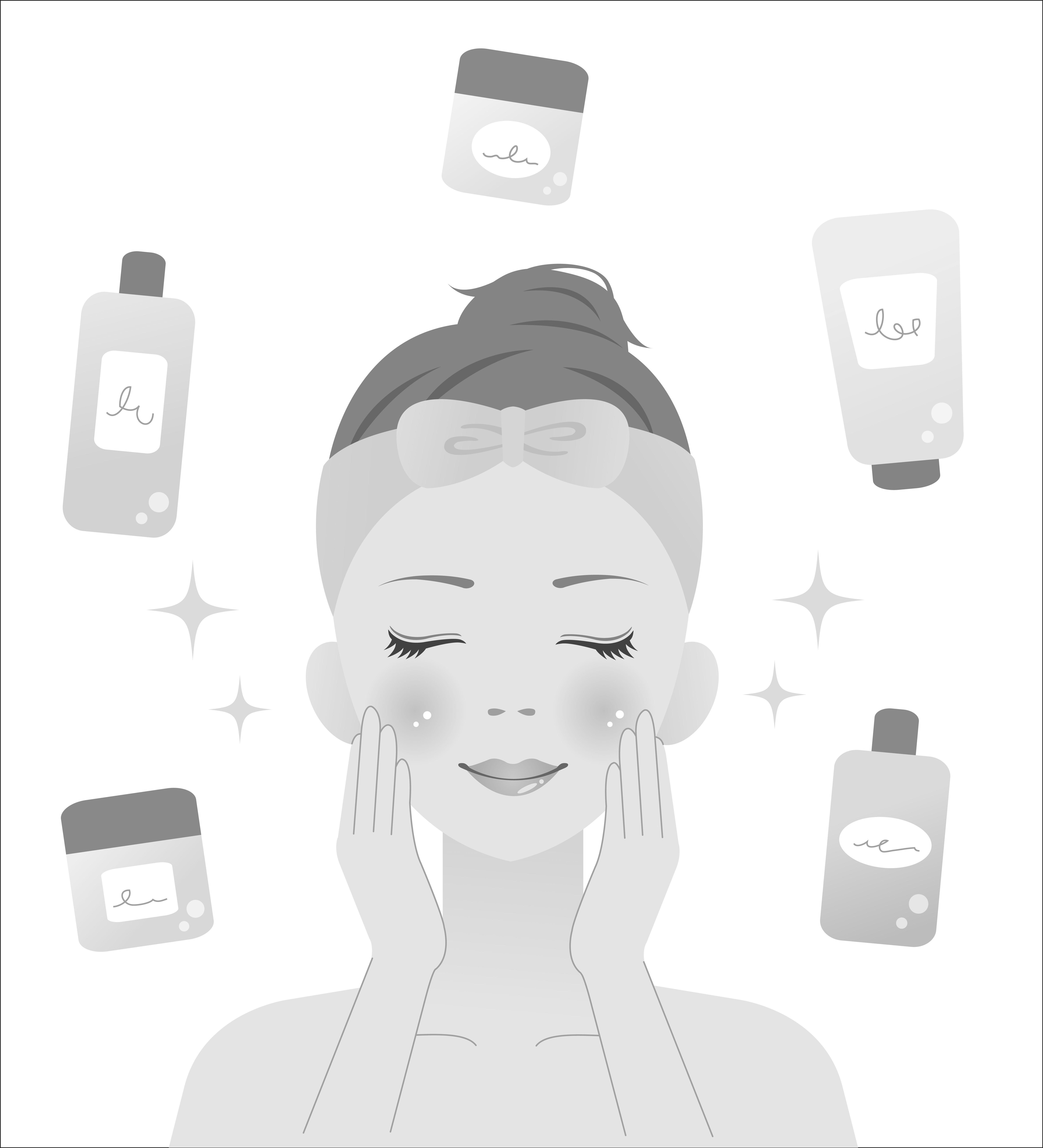 顔のヒアルロン酸のアフターケア